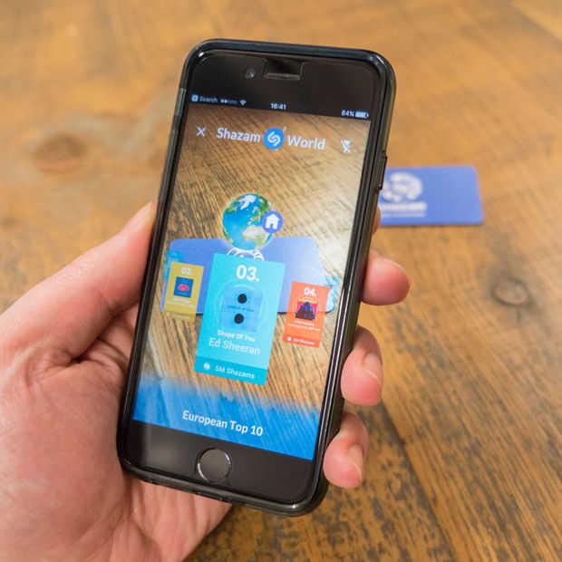 Shazam wil augmented reality-expert worden voor andere bedrijven