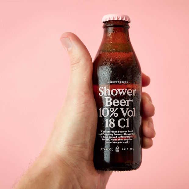 Shower Beer: speciaalbier en shampoo in één