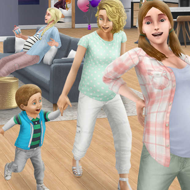 Het spel 'The Sims' voegt periode van zwangerschap toe aan het spel