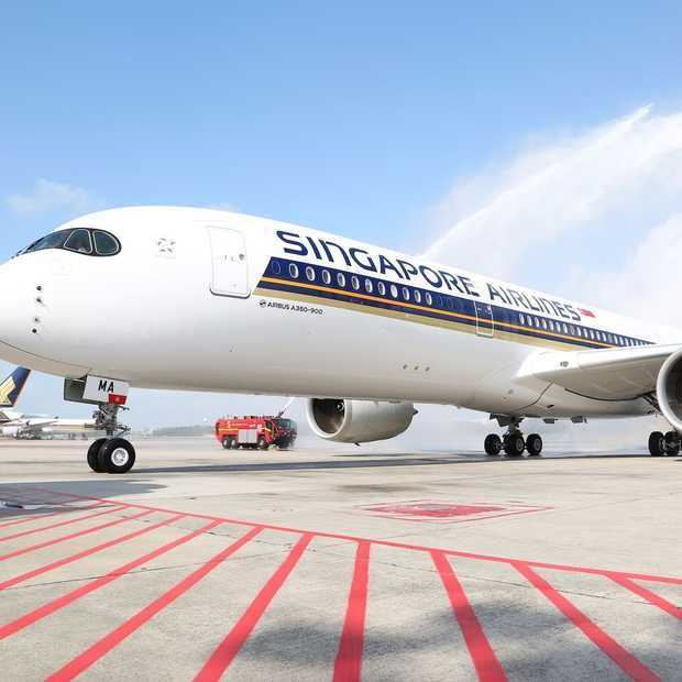 360° in de Singapore Airlines Airbus A350