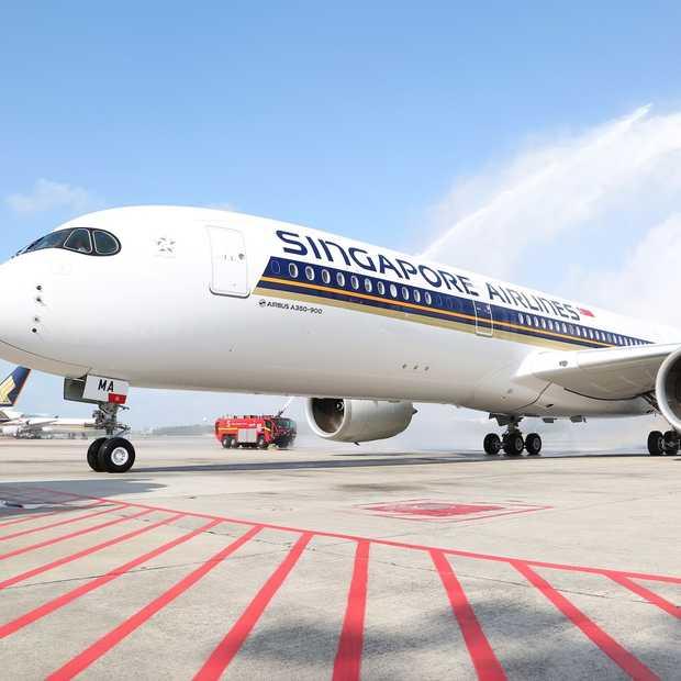 Binnenkijken in de nieuwe Airbus A350 van Singapore Airlines