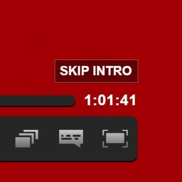 Netflix test de 'skip intro-knop'