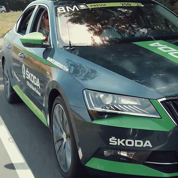 Škoda al 16 jaar trots hoofdsponsor van de Tour de France