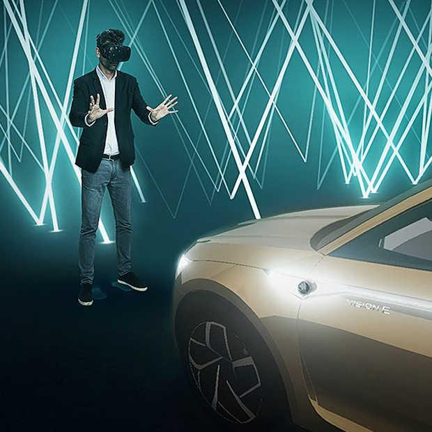 Unieke VR-beleving voor nieuwe concept car van Škoda