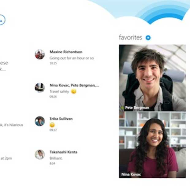 Skype voor Windows 8 verschijnt op 26 oktober