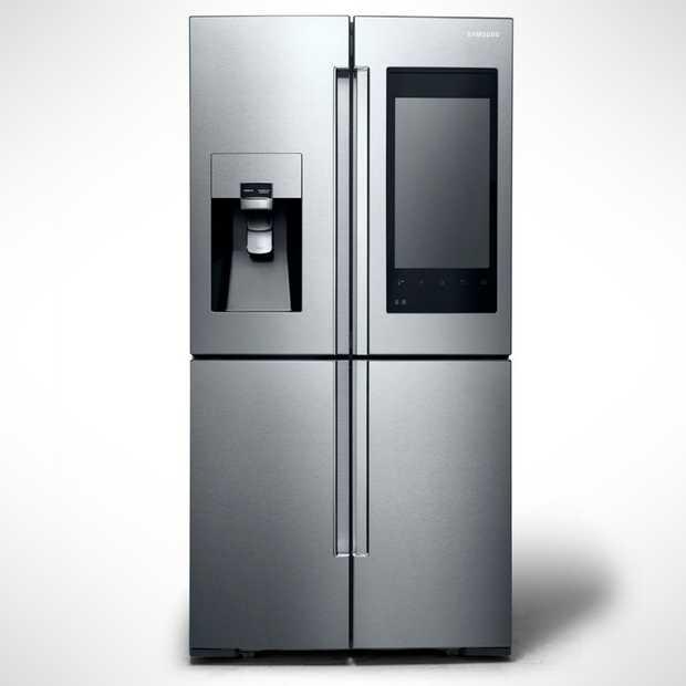 CES Nieuws: Deze slimme koelkast van Samsung vertelt je welk eten je nog in huis hebt