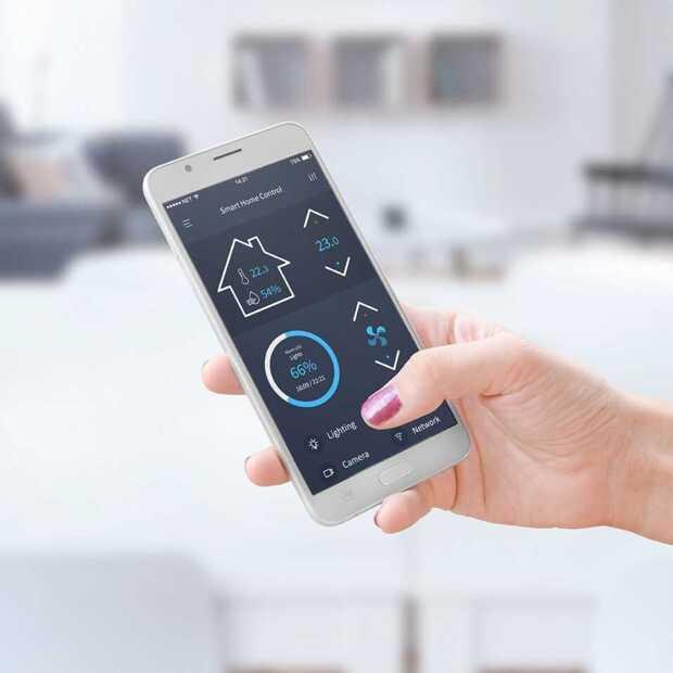 Nederlandse huishoudens hebben steeds meer smarthomeproducten