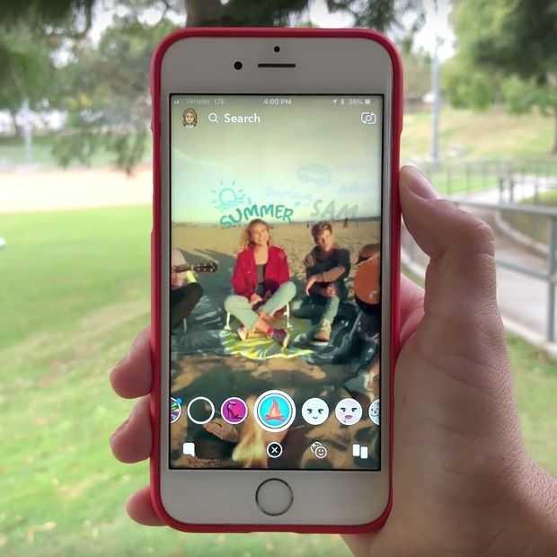 Snapchat wil Netflix achterna met 'Original' microseries