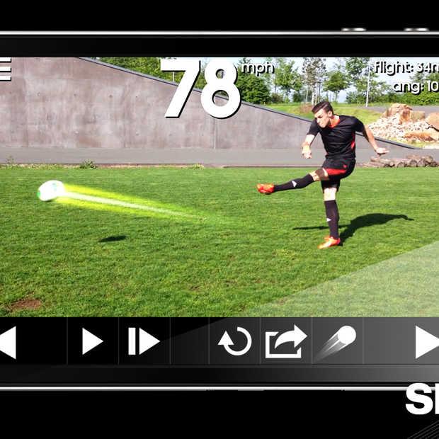 Snapshot van Adidas: Hoe hard trap jij tegen een bal aan?