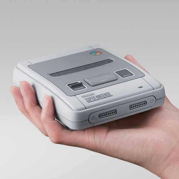 Nintendo kondigt Classic Mini Super Nintendo aan: 29 september