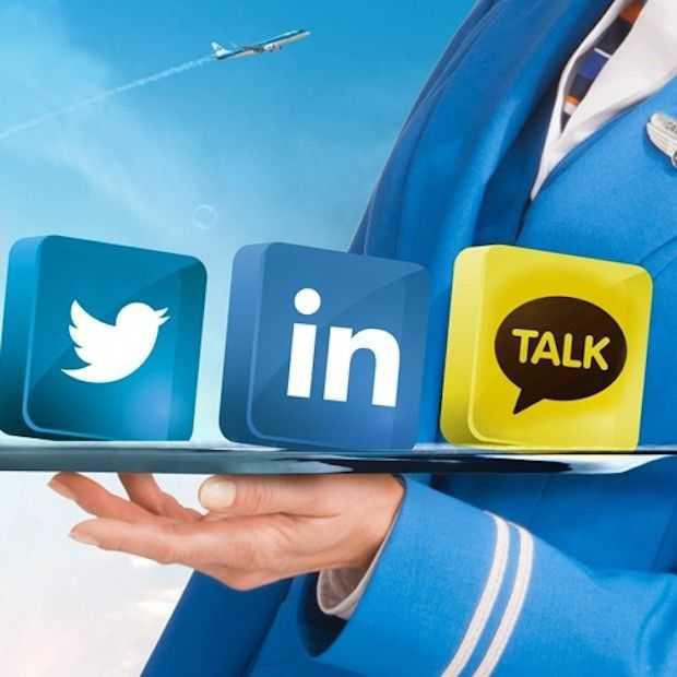 KLM onder vuur op social media