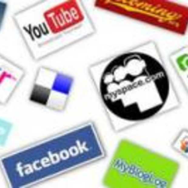 Sociale netwerken richten zich op media en nieuws