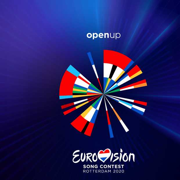 Artwork Eurovisie Songfestival gebaseerd op Dutch Design en data