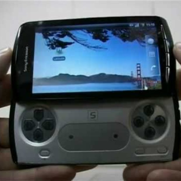 Sony Ericsson ZEUS - PlayStation Phone [Spy]