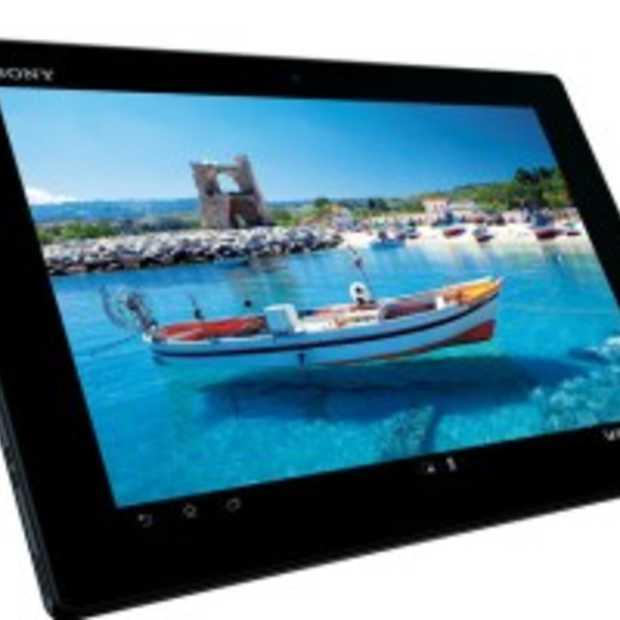Sony komt met 10-inch Xperia Tablet Z: full HD en dunner dan de iPad