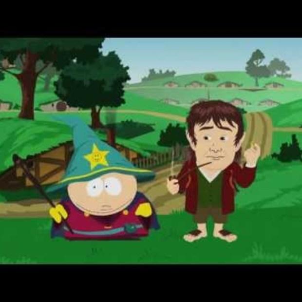Opening Video Game Awards 2012: Cartman & The Hobbit
