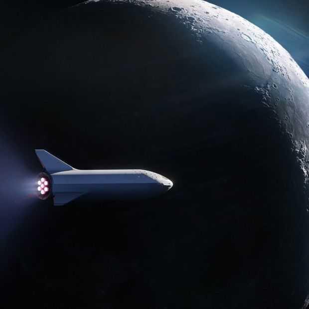 SpaceX maakt eerste ruimtetoerist voor maanreis bekend