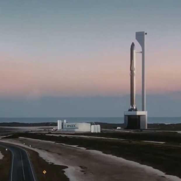 Raket SpaceX landt maar explodeert