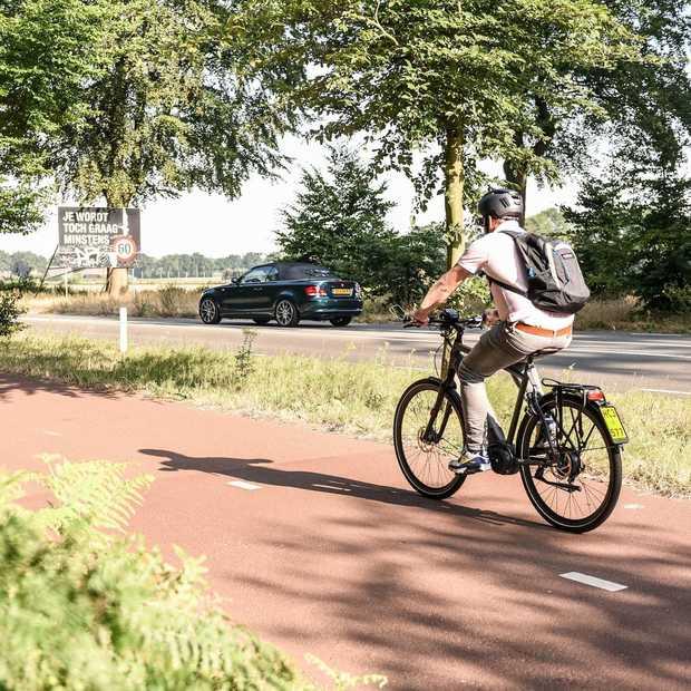Op een speedbike filevrij naar je werk: zo fijn is dat!