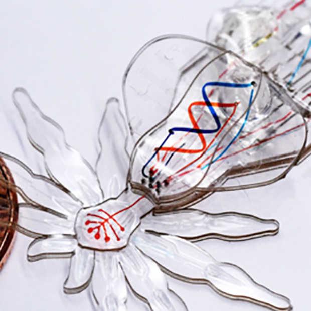 Deze kleine zachte spinrobots helpen bij operaties