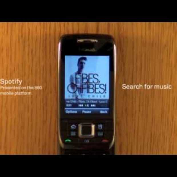 Spotify for S60 preview