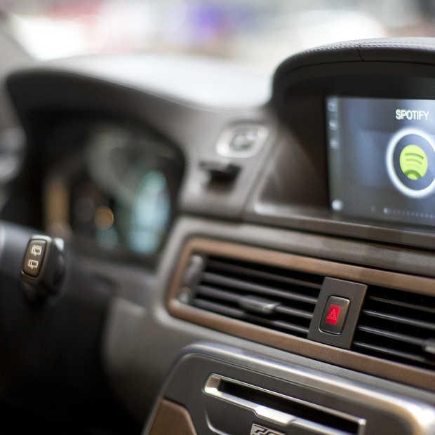 Spotify komt beschikbaar in Volvo's