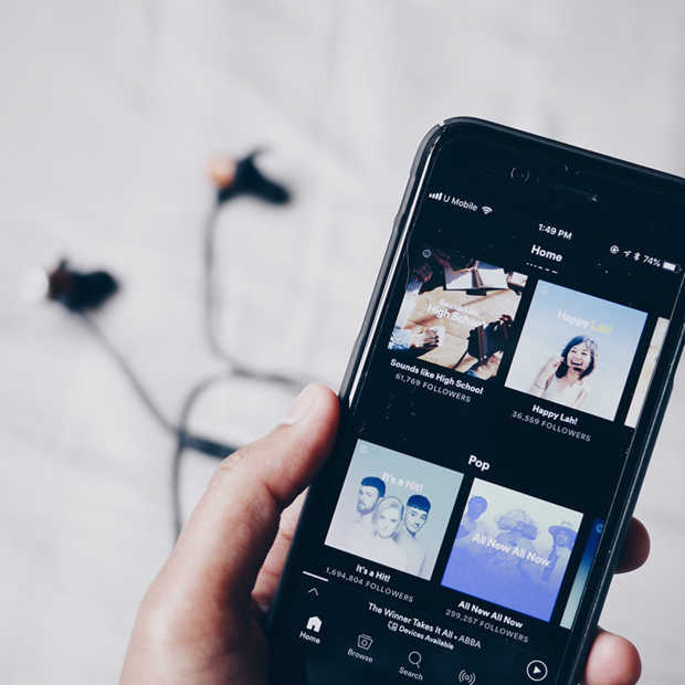 Nieuwe feature Facebook Stories: Spotify muziek delen