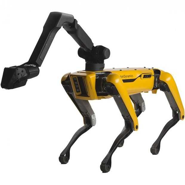 Spot is de eerste commerciële robot van Boston Dynamics