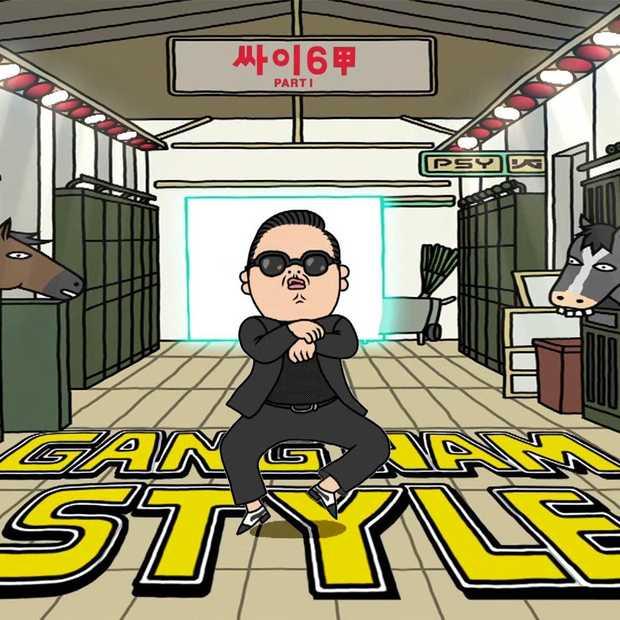 Gangnam Style heeft al meer dan 2 miljard views op YouTube