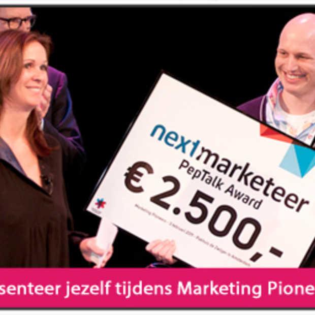 Sta jij op het podium tijdens Marketing Pioneers?