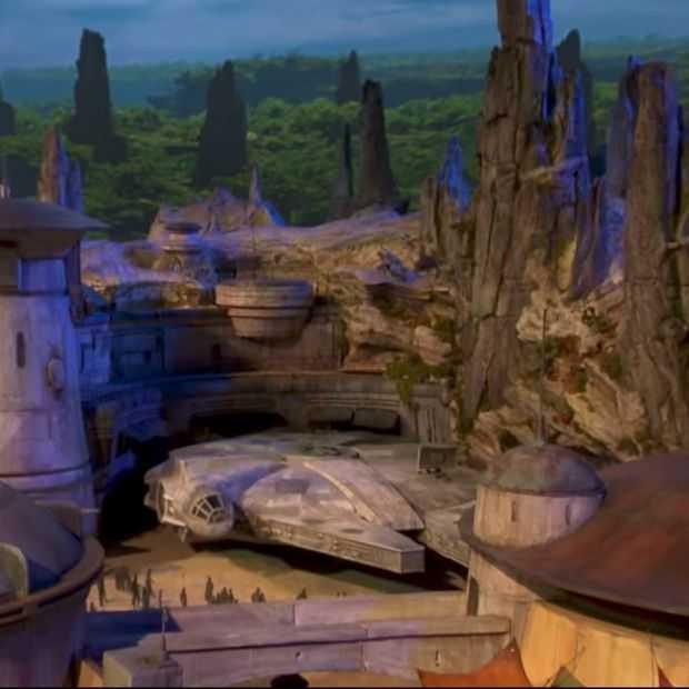Zo gaat het Star Wars Land Disney themapark er uit zien!