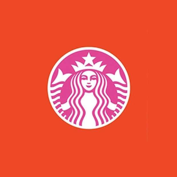 22 bekende logo's in de kleuren van concurrerende merken