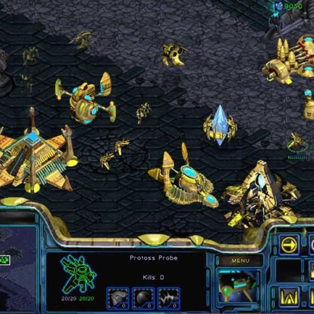 De originele Starcraft pc-game krijgt een facelift van Blizzard