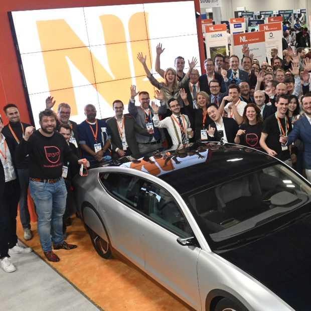 Nederlandse startups zoeken partners tijdens CES in Las Vegas