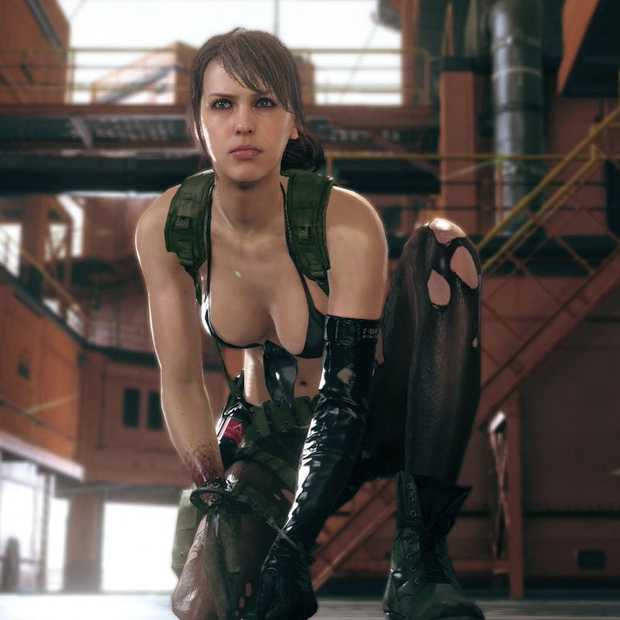 Nederlands video game model Stefanie Joosten op Dutch Comic Con
