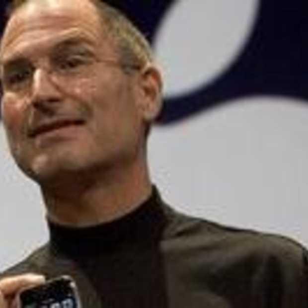 Steve Jobs ziek thuis