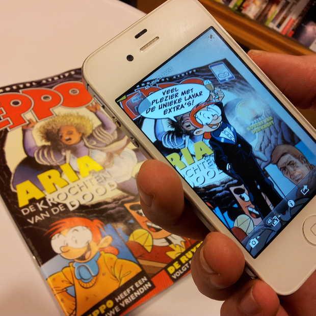 Stripboek Eppo verrijkt met Layar technologie
