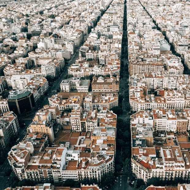 Superblocks in Barcelona moeten zorgen voor autovrije stad