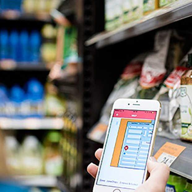 Een navigatie-app... voor in de supermarkt?