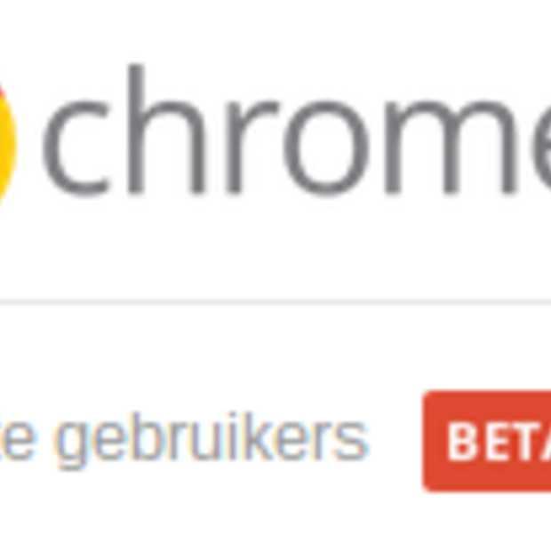 """Supervised users"" instelbaar in Chrome"