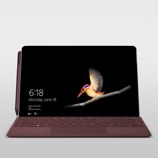 Microsoft's Surface Go is nu beschikbaar in Nederland
