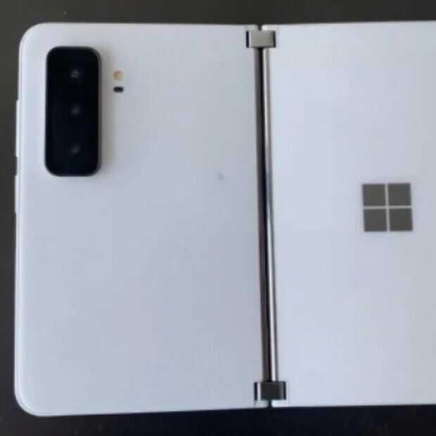 Gelekte foto's tonen waarschijnlijk de Microsof Surface Duo 2