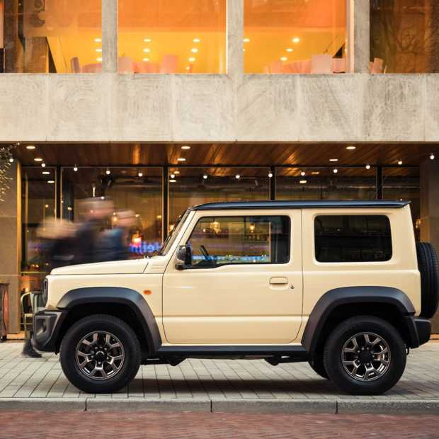 Suzuki Jimny uitgeroepen tot World Urban Car of the Year 2019