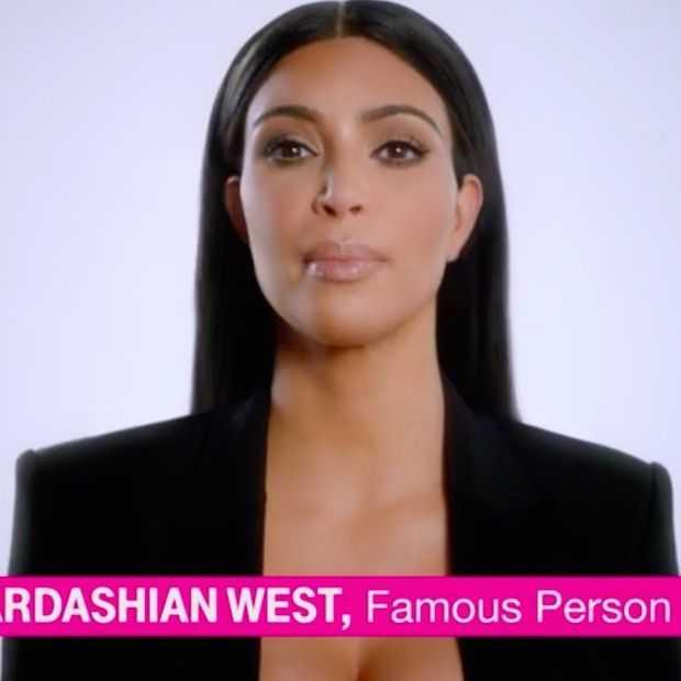 Ook Kim Kardashian te zien in Super Bowl spotje