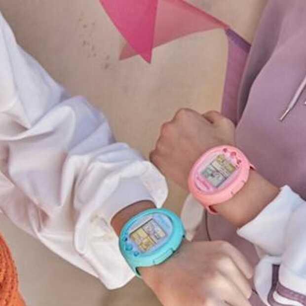 Je favoriete digitale huisdier als smartwatch van Tamagotchi om je pols