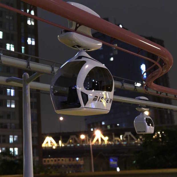 De taxi van de toekomst: elektrisch wagentje zonder bestuurder