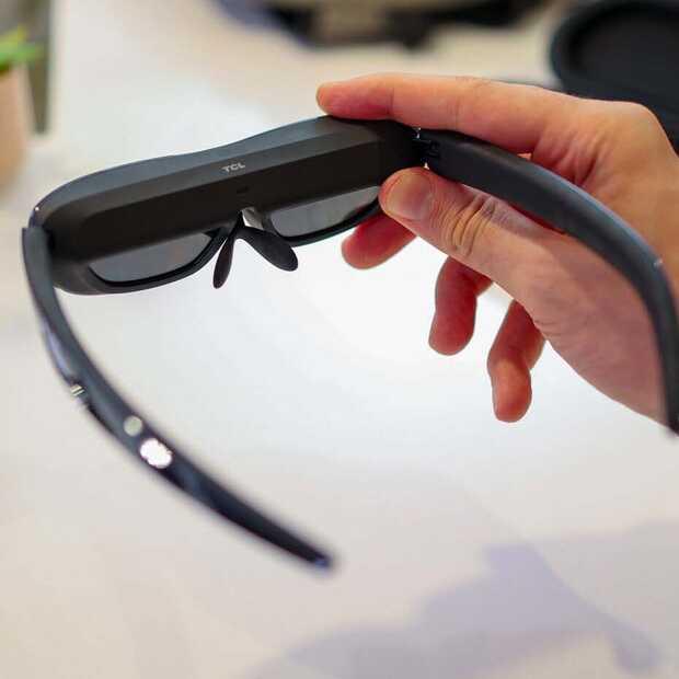 TCL komt met bril met OLED-scherm om video's te kijken