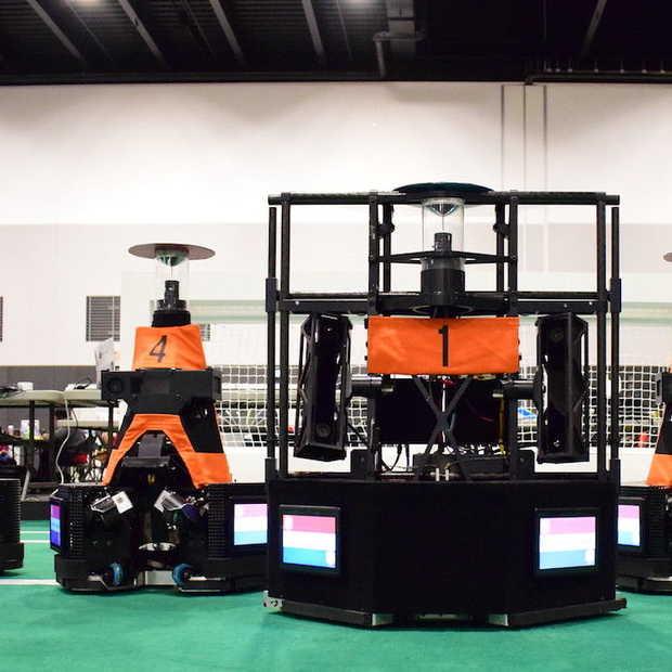 Robot-leeuwinnen van TU Eindhoven wereldkampioen