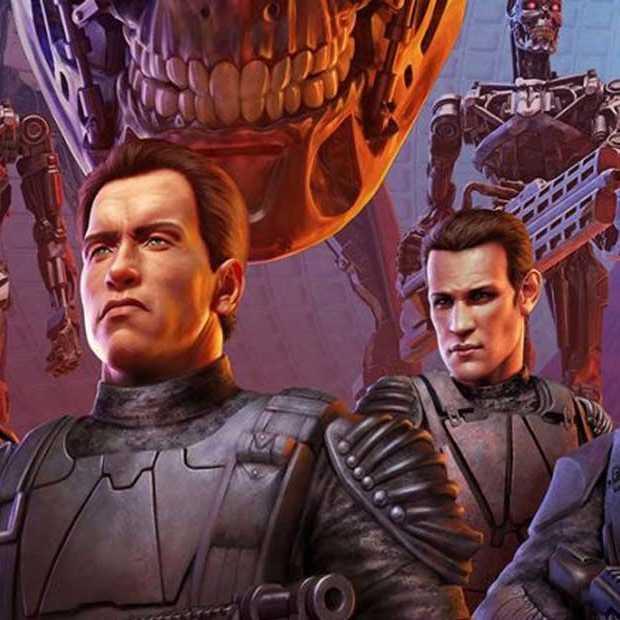 Deze boardgame van Terminator bevat heel mooie pionnen