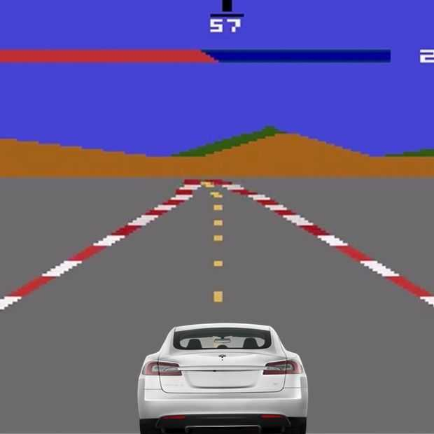 Elon Musk gaat Atari games in Tesla-software verstoppen